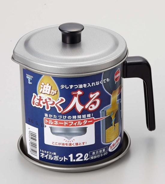 日本家庭主婦發明過濾油器