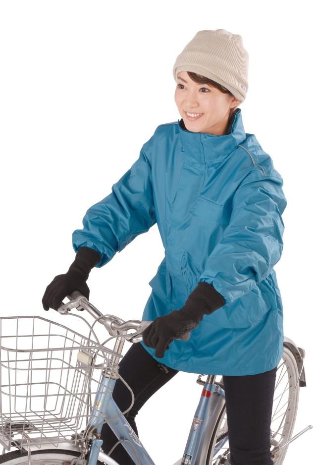 寒手袋_自転車